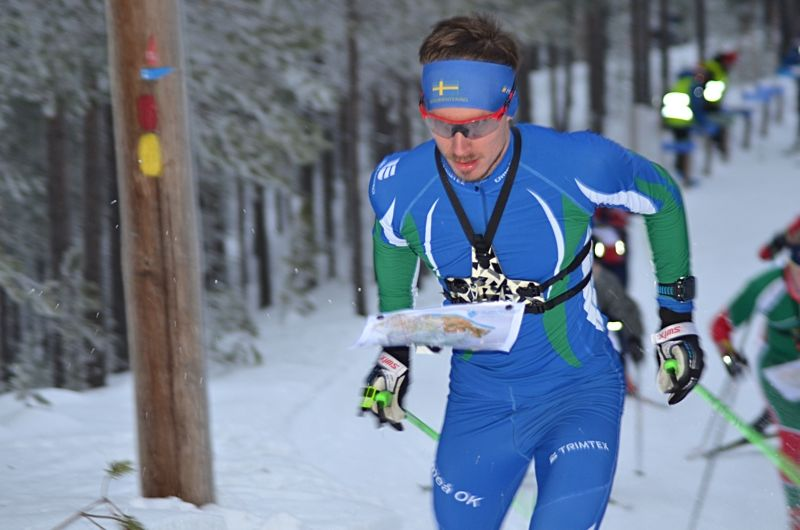 Umeå OK:s Ulrik Nordberg är en av åkarna i skidorienteringens landslagstrupp inför hemma-VM i Piteå 2019. FOTO: Johan Trygg/Längd.se.
