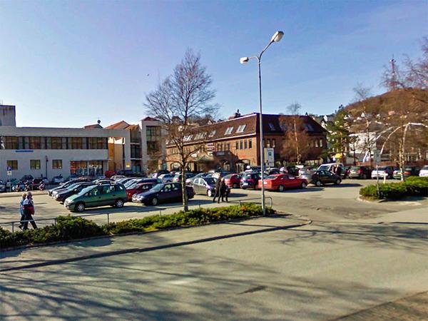 Parkering i Egersund