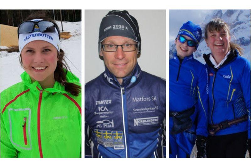 Stipendiaterna i Gunde-fonden 2018: Hilda Lagerlöf, Peter Blomqvist och Karin Spets.