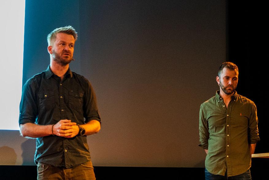 Roy Mangersnes og Audun Lie Dahl er fotografer og partnere i WildPhoto, som bringer fotografer ut i villmarken.