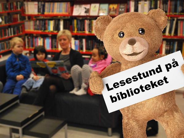 Lesestund på biblioteket