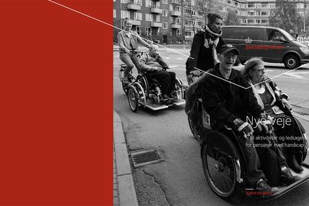 Ingressbilde til Idéheftet Nye veje – til aktiviteter og ledsagelse for personer med handicap