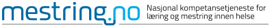 Logoen til Nasjonal kompetansetjeneste for læring og mestring innen helse (NK LMH)
