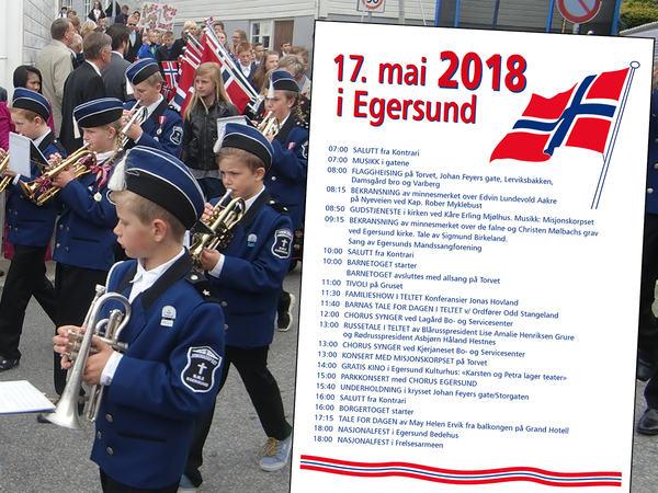 17. mai - program for 2018