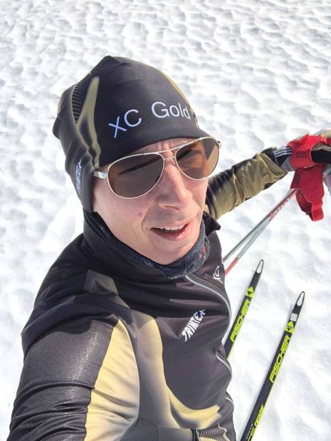 """""""Jag började åka skidor rätt sent i livet, så för mig känns det rätt häftigt att"""