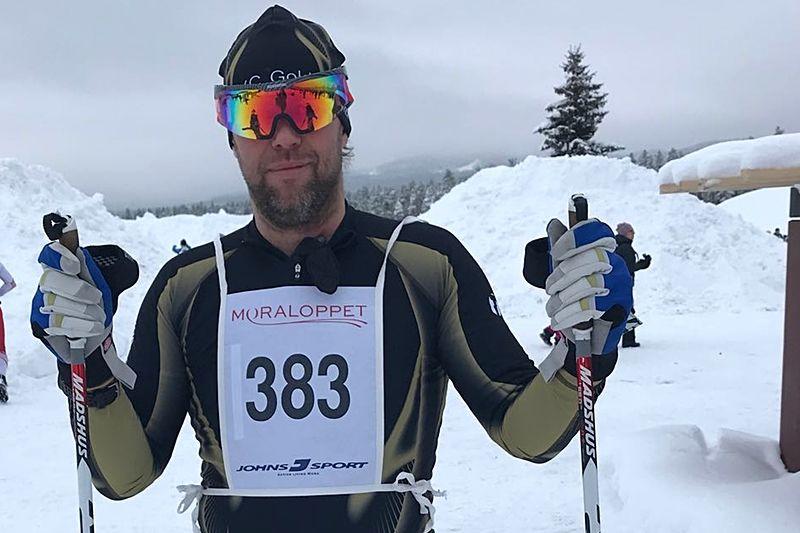 Pelle Bergstrand får inspiration av gemenskapen i Team XC Gold.