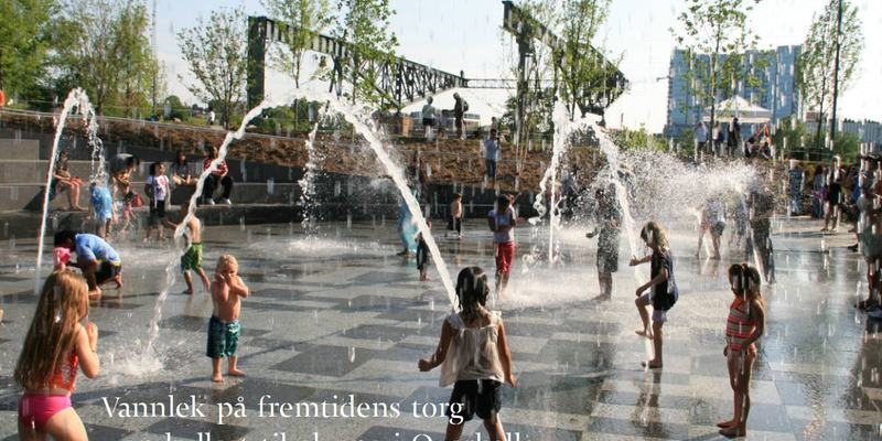 Illustrasjonsbilde vannpark