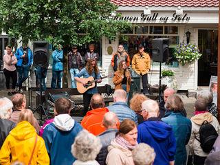Egersund visefestival i gågata