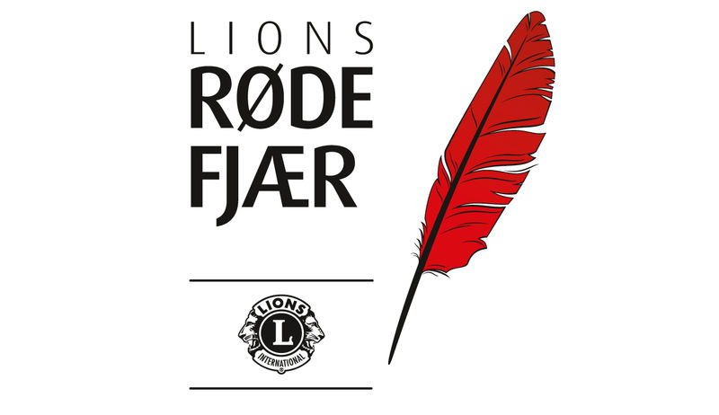 Logo for Lions Røde Fjær