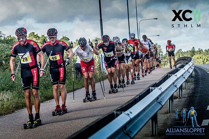 XC Sthlm och Alliansloppet bjuder in till en kom igång på rullskidor-dag i Stockholm 16 juni. FOTO: Alliansloppet.