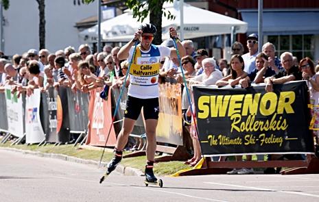 Calle Halfvarsson har vunnit Inge Bråten Memorial tidigare och nu möter vinterns svenska sprintmästare bland annat OS-femman Oskar Svensson i Sunne. FOTO: Marcela Havlova/KEK-stock.