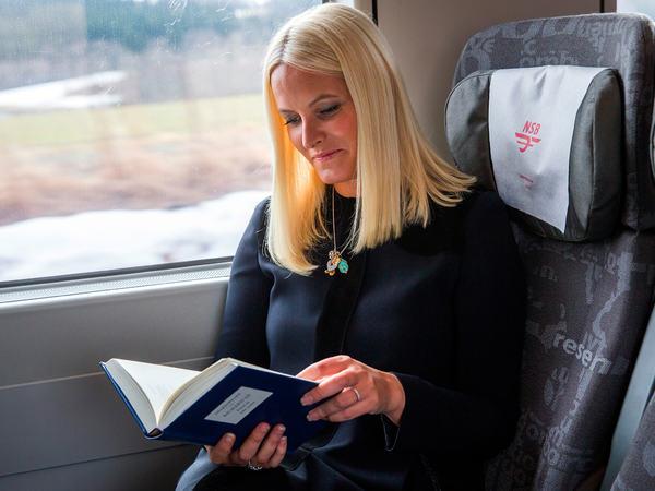 Litteraturtoget med Mette Marit