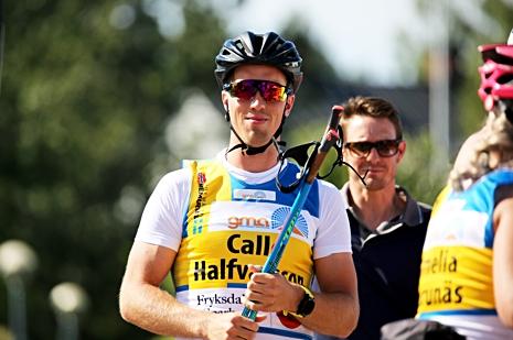 """Calle Halfvarsson vann SM-guldet i sprint i vintras. Han blev dock """"bara"""" tredje svensk i OS-sprinten i Pyeongchang. Nu åker han Dansbandssprinten i Malung 19 juli. FOTO: Marcela Havlova/KEK-stock."""