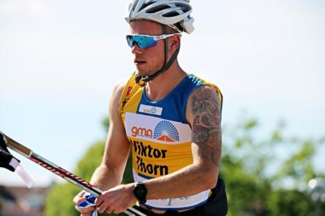 Viktor Thorn var yngst av dom fyra svenska OS-åkarna i sprint. Han slutade 27:a i sin OS-debut, men han är en av de största talangerna inför åren som kommer. Slår han till i Malung den 19 juli? FOTO: Marcela Havlova/KEK-stock.