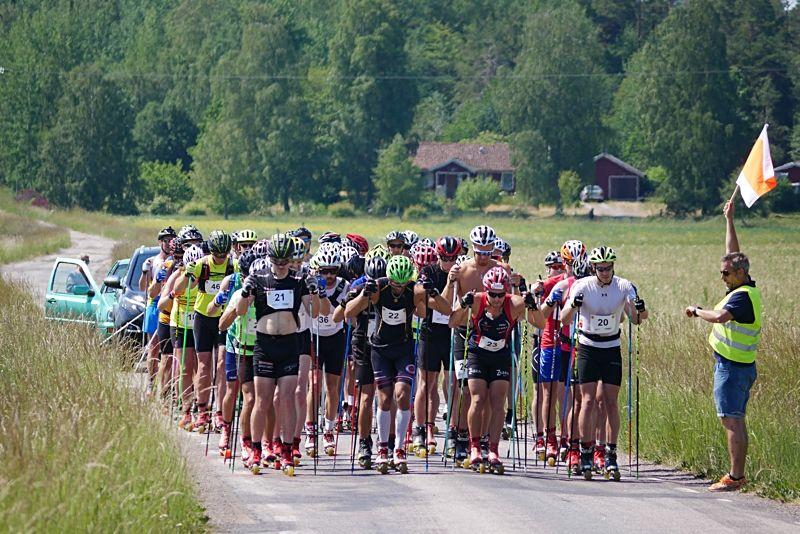 Starten på Rådarullen utanför Lidköping i söndags. FOTO: Lidköpings VSK.