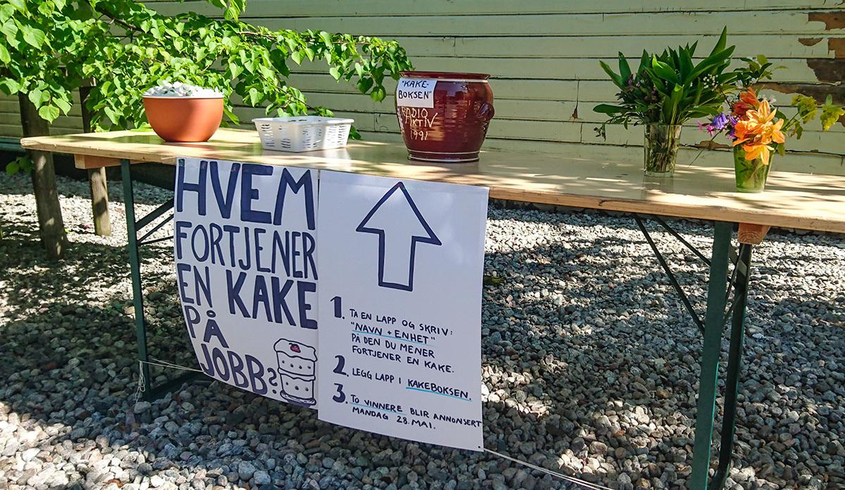 Kake til SFO på Husabø