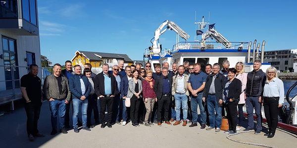 Hele delegasjonen fra Leverandørutvikling Havbruk Nord hos Midt-Norsk Havbruk (2) (002)