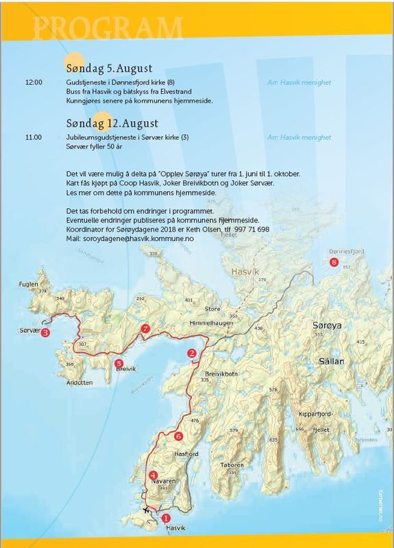Program for Sørøysommer 2018
