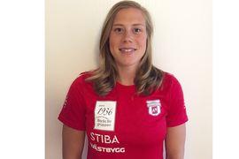 Maria Nordström byter från en västgötaklubb till en annan. Hon går från Ulricehamns IF till Borås SK. FOTO: Borås SK.