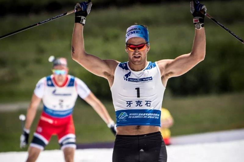 Teodor Peterson klar segrare på sommarsprinten i Inre Mongoliet.