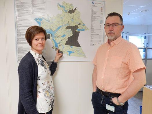 Line Hansen og Kurt Hjelvik