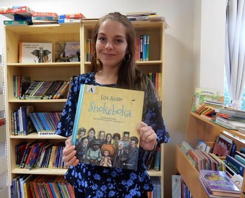 Krisitine Nordal med barnebok
