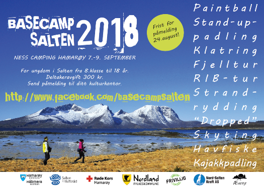 Plakat Basecamp Salten 2018