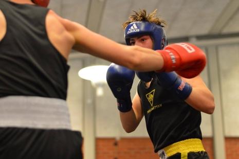 Boxning finns också på programmet. FOTO: Alliansloppet Action Week.