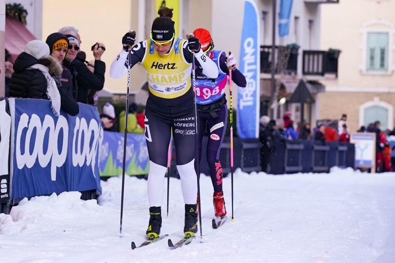 Britta Johansson Norgren och Katerina Smutna är två av Ski Classics lysande damstjärnor. Nu jobbar den internationella långloppscupen för att lyfta fram fler damåkare. FOTO: Magnus Östh.