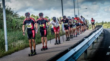 Tord Asle Gjerdalen längst fram under Alliansloppet i fjol. Gjerdalen är förstås en av favoriterna. FOTO: Alliansloppet.
