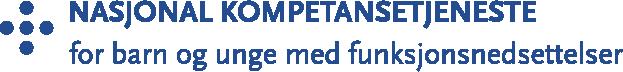 Logoen til Nasjonal kompetansetjeneste for barn og unge med funksjonsnedsettelser