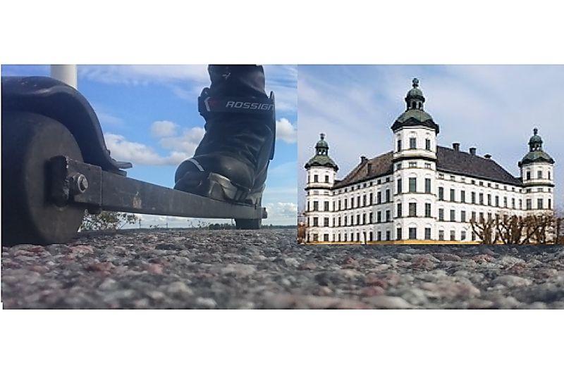 På söndag är det dags för Skoklosterrullen som också är andra deltävlingen i Snö och Tö rullskidstour. FOTO: Skoklosterrullen.