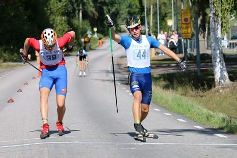 I H 15-16 blev det delad seger mellan Ludvig Berg, Granbergsdals IF (44) och Harald Ekenberg (38), IK Stern. FOTO:Sport Images Sweden.