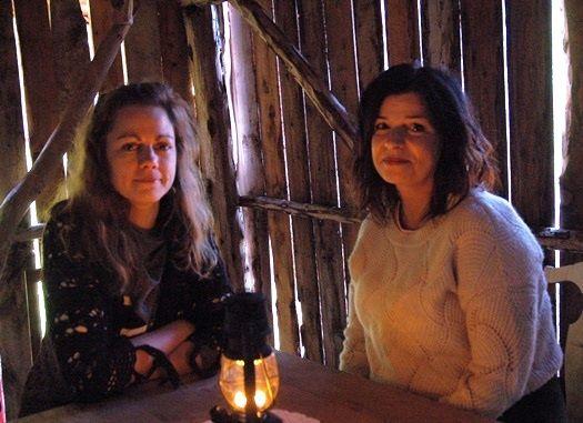 Eirin Edvardsen og Maria Piel
