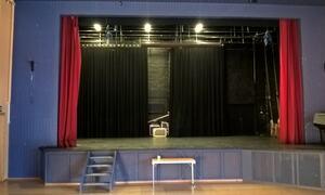 Sceneapningen fra salen