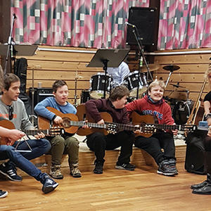 Bilde av Musikkgjengen i Lindås. Bildet er tatt av Monica Aastum