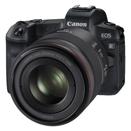EOS R with 50mm RF Lens
