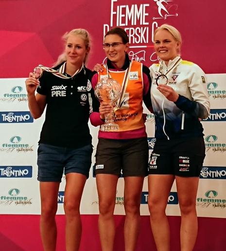 Jackline Lockner slutade trea i damklassen. FOTO: Svenska skidförbundet.