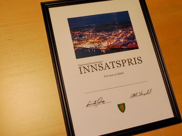Innsatsprisen for Eigersund kommune