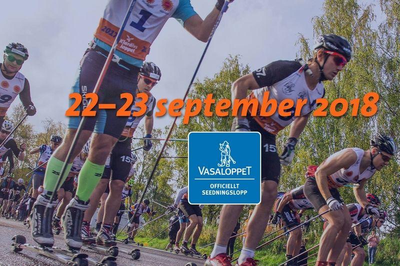 Nio mil långa rullskidloppet Klarälvsloppet Rollerski 90K sänds live på Längd.se på söndag. FOTO: Klarälvsloppet.