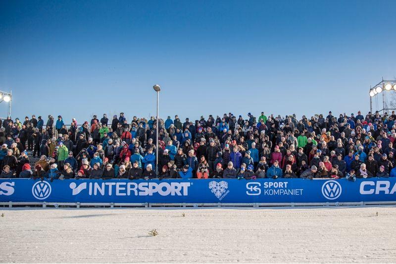 Det var stor publik vid supersprinten i Östersund förra året. 2-4 november är det dags igen. FOTO: Per Danielsson, Frilansfotograferna.