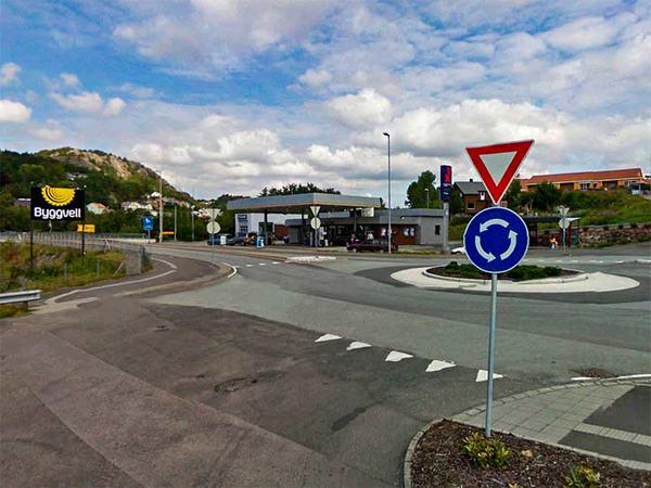 YX bensinstasjon