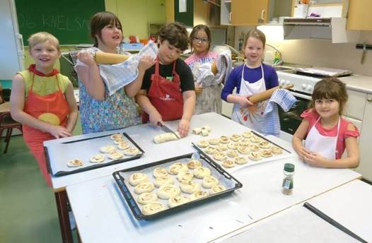 Unge bakere
