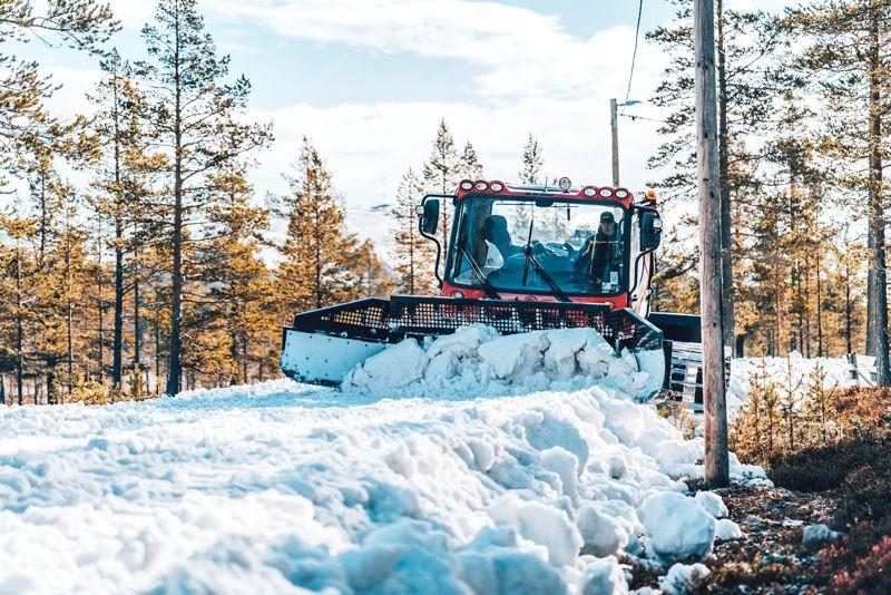 I morgon förmiddags står hela 10 kilometer längdspår och väntar på skidsugna åkare på Idre Fjäll. FOTO: Idre Fjäll.