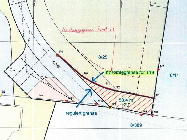 Kart over Hamran