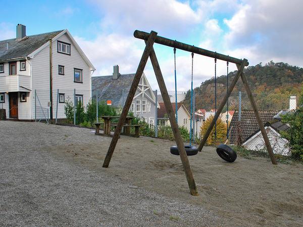 Lekeplass i Peder Clausens gate