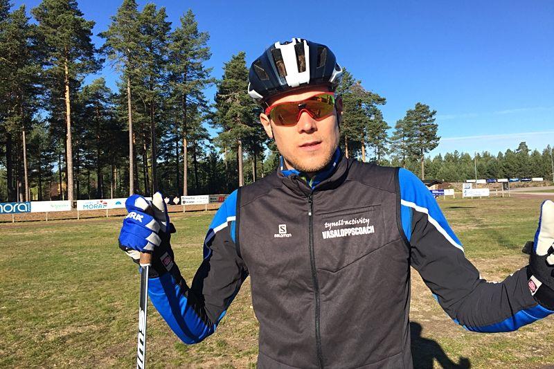 I samarbete med Rikard Tynell presenterar Längd.se idag träningsprogram inför Vasaloppet och andra långlopp i vinter. FOTO: Johan Trygg/Längd.se.