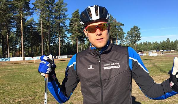 Isamarbete med Rikard Tynell presenterar Längd.se träningsprogram inför Vasaloppet och andra långlopp i vinter. FOTO: Johan Trygg/Längd.se.
