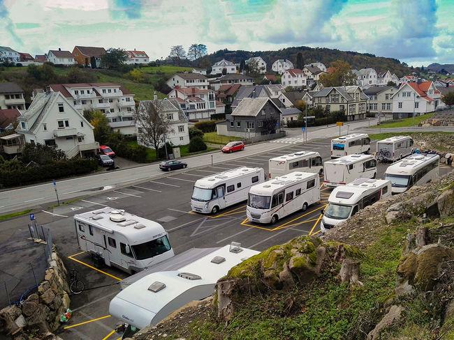 Bibilparkering i Egersund