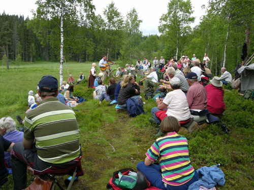 Slåttemyradagen 2006. Foto: Tor Øystein Olsen